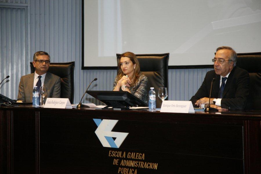 Inauguración do curso monográfico sobre ética pública e medios para previr a corrupción